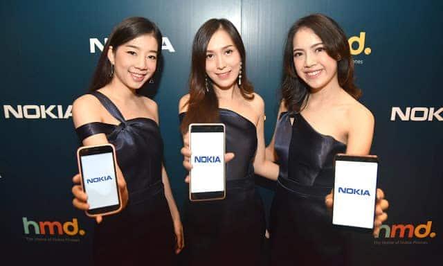 - HMD Global เปิดตัว Nokia ในไทย 3 รุ่นรวด Nokia 7 plus, New Nokia 6 และ Nokia 1