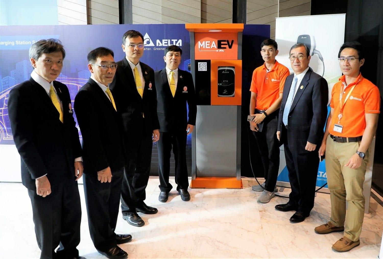 mea - การไฟฟ้านครหลวง ร่วมกับ บริษัท เดลต้า พัฒนา MEA EV application อำนวยความสะดวกผู้ใช้รถ EV