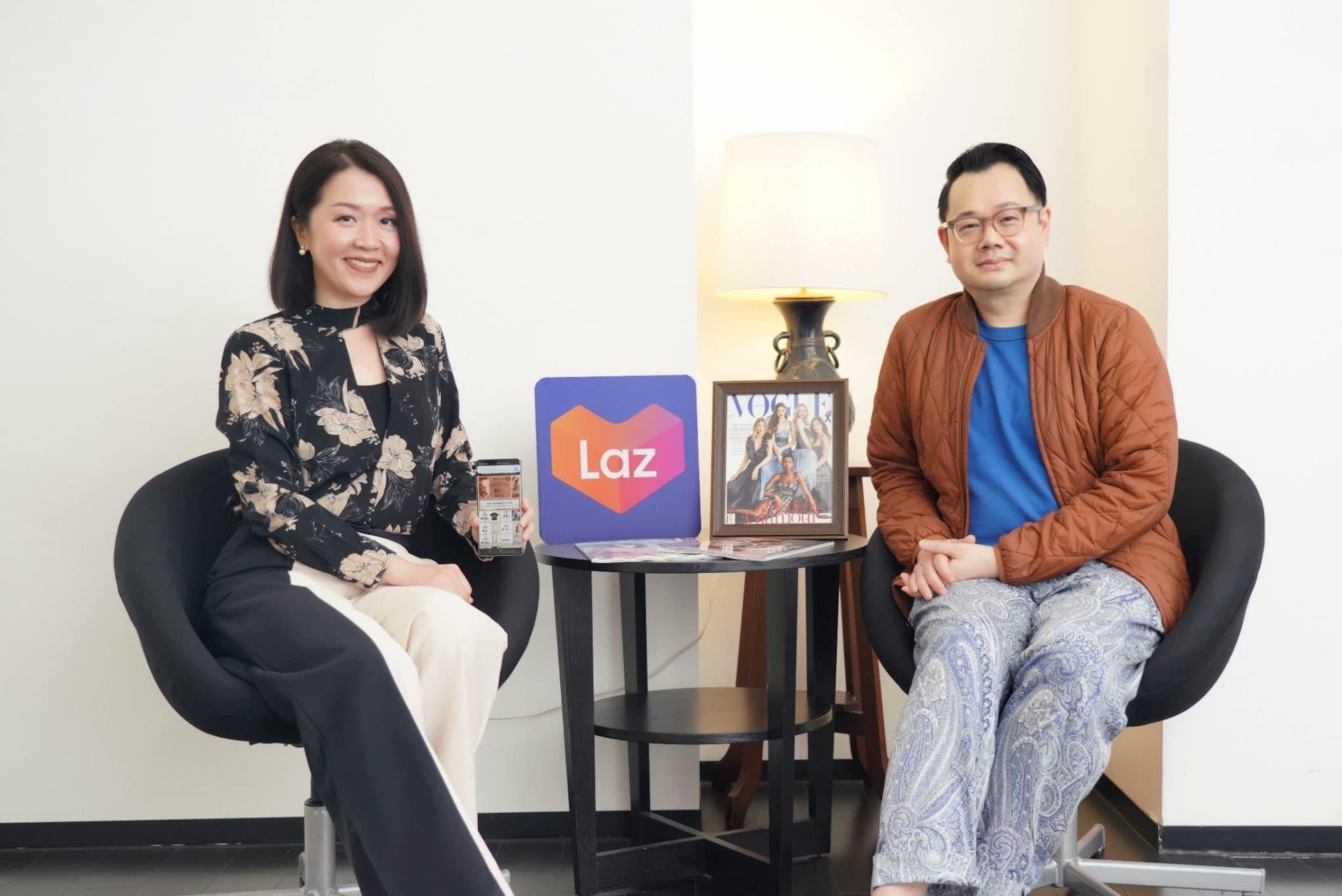 - ลาซาด้าจับมือโว้ก สนับสนุนแบรนด์แฟชั่นไทยชื่อดังจาก VOGUE Who's On Next กว่า 36 แบรนด์สู่ออนไลน์ กระตุ้นเศรษฐกิจไทย ตอบเทรนด์แฟชั่นยุคดิจิทัล
